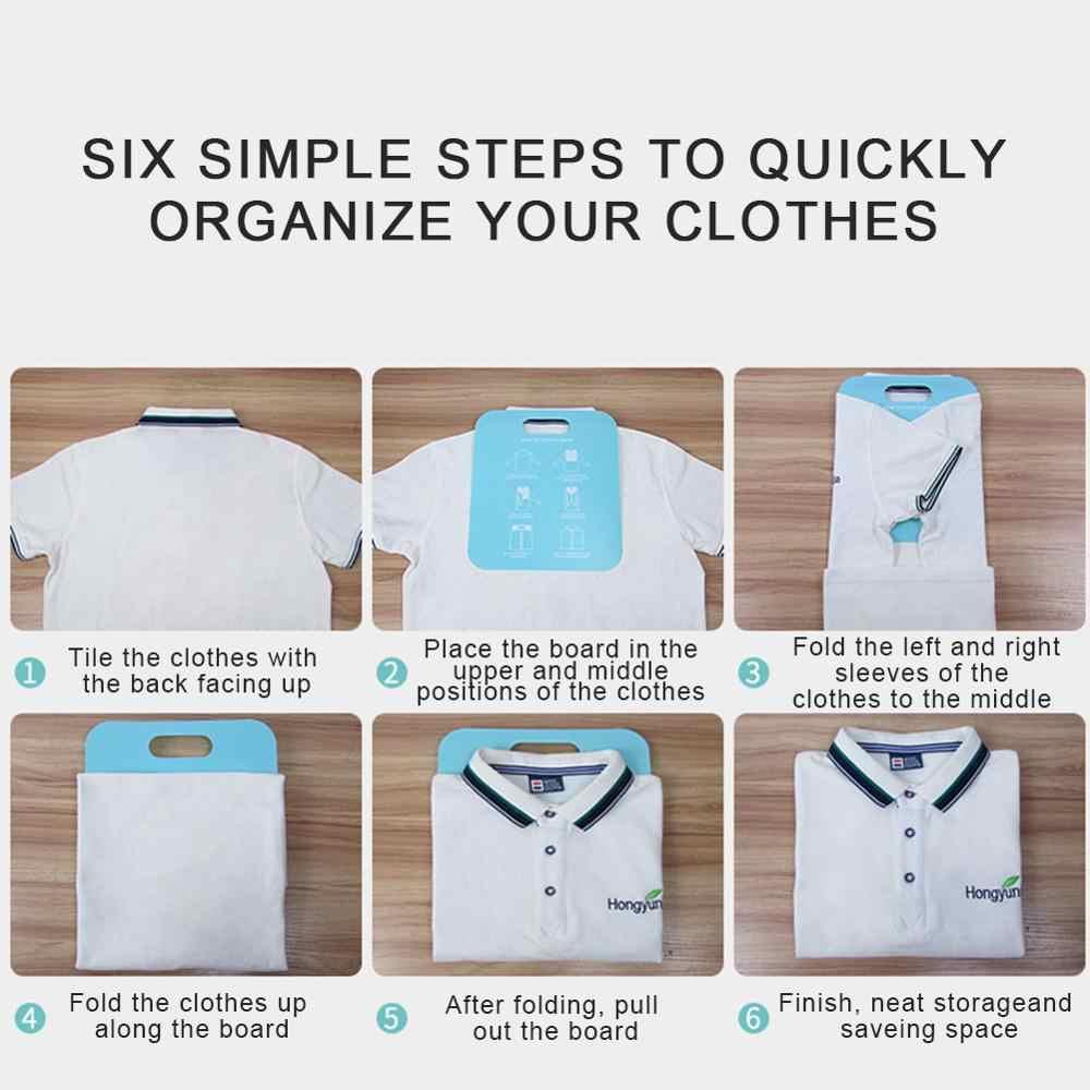 빠른 접이식 보드 편리한 스태킹 보드 성인 의류 셔츠 접이식 보드 게으른 스태킹 의류 도구 가정용 필수
