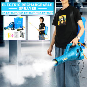 Blower Mist-Sprayer High-Pressure Garden Portable Fogger Atomization Knapsack Disinfection