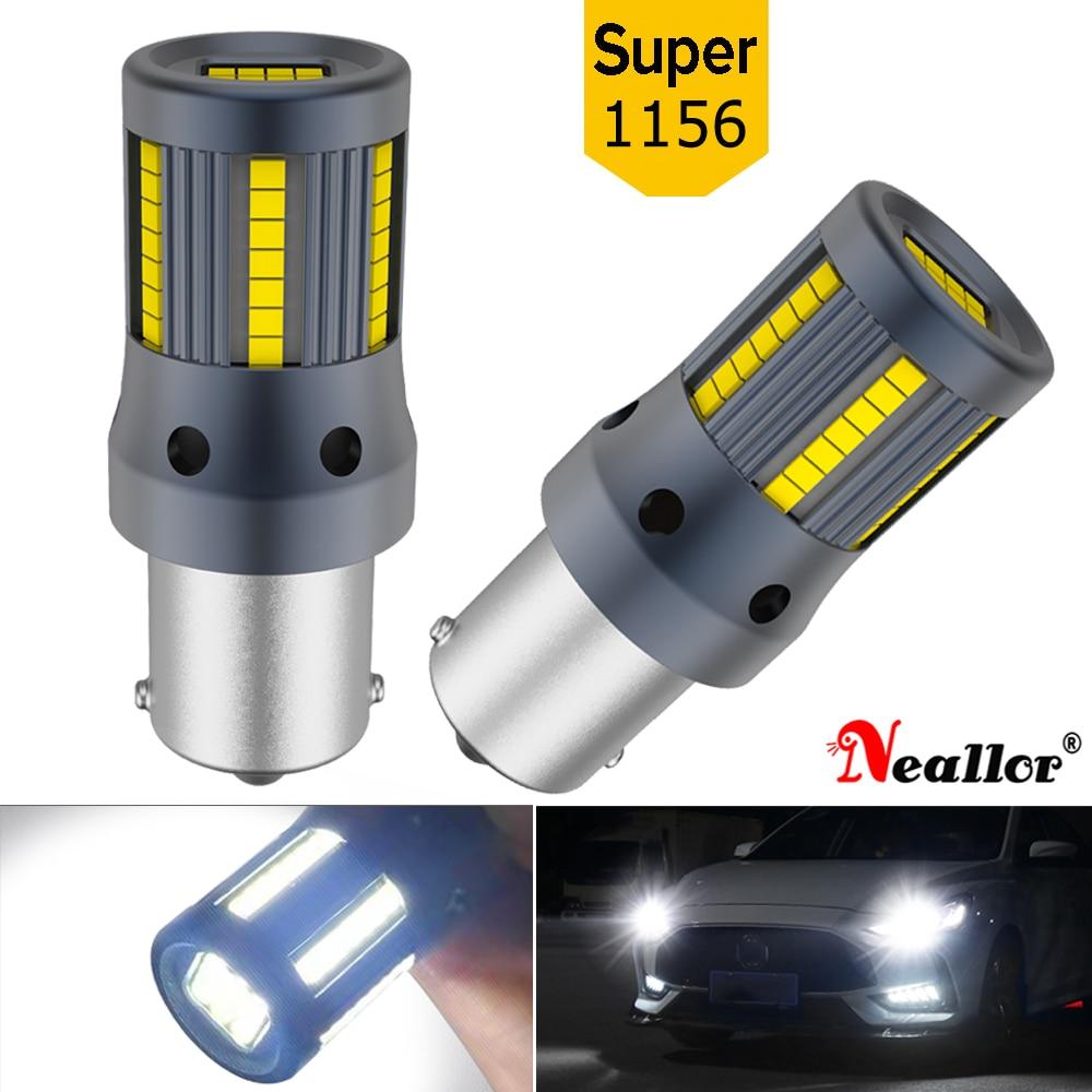 2x Car Turn Signal Light BA15S P21W 1156 BAU15S PY21W T20 7440 W21W For Toyota Venza Tundra Tacoma Solara Sienna Sequoia Prius C