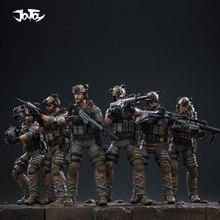 JOYTOY figurine de 1/18 soldats sceaux de la marine américaine (6 pièces/ensemble), modèle de jouets, cadeau danniversaire/vacances, livraison gratuite