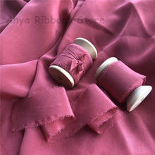 Ins стиль 25 мм 50 5mts/рулон (woodenspoools) 100% чистый шелк