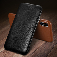 Original XOOMZ Genuine Leather Case For iPhone X XS XS Max Luxury Flip Case Cover For iPhone 7 8 6s Plus Phone Case For iPhoneXS