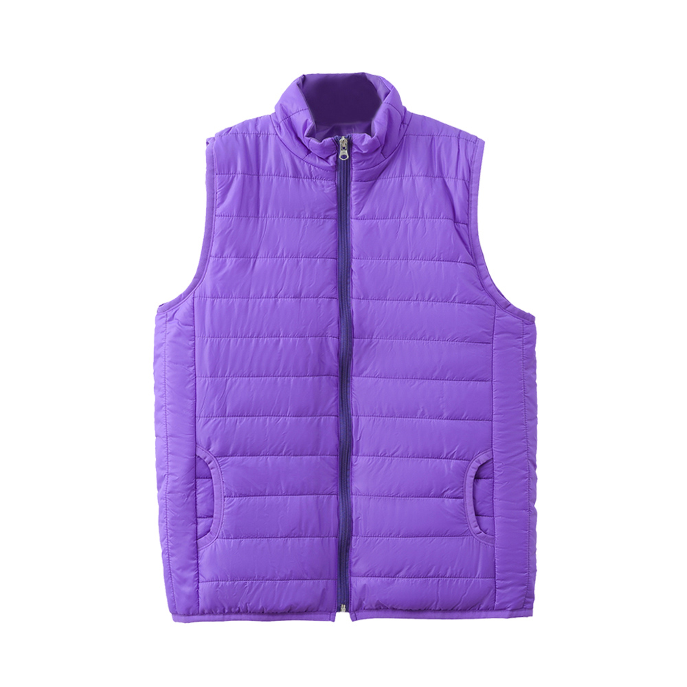 Popular Autumn And Winter Jacket Down Jacket Men Women Hooded Fashion Down Jacket Jacket Vest Cotton Jacket Casual Purple Jacket