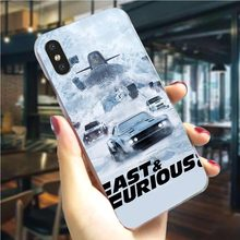 Kleurrijke Fast & Furious en Paul Walker Telefoon Case Voor iPhone 8 Plus Cover 5 5S SE 6 6 s/6 6S Plus 7 8/7 Plus X XS XR Xs Max Harde(China)
