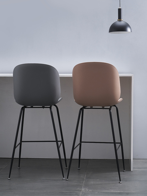 Nordic Simple Ins Bar Chair Beetle Bar Table Chair Domestic High Foot Iron Industry Wind Bar Stool