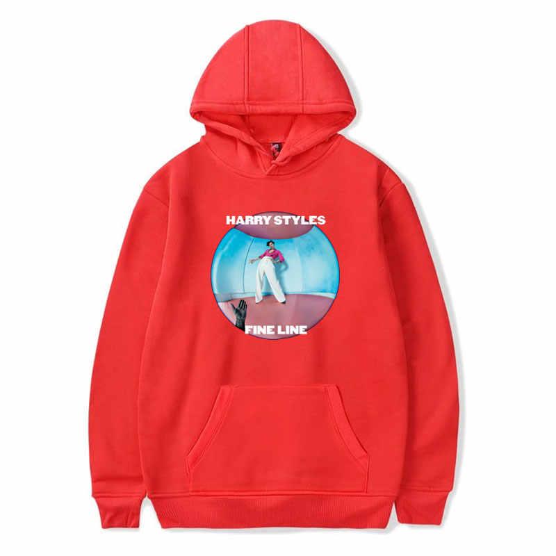 Streetwear Hoodies Sweatshirt Women Harry Styles FINE LINE Hoodie Pink Clothing Men Polerone Winter Clothes Women Harajuku Shirt