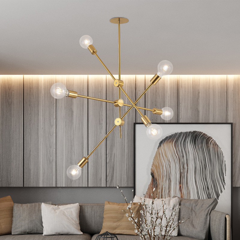 Nordic Design Rose Gold Glass Ball Pendant Light Creative Design Aisle Living Room Bedside Dinner Decro Led Light Fixtures