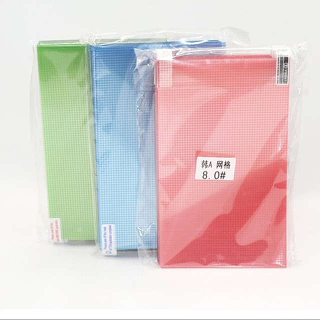 10pcs/lot A4 size 14 Universal HD Clear Anti Glare Matte LCD Screen Protector Protective Grid films for Phone Tablet GPS
