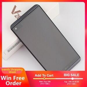 Image 2 - الأصلي مقفلة LG V20 ، الهواتف المحمولة 4GB 64GB أنف العجل 820 المزدوج سيم 5.7 بوصة 2560*1440 المزدوج 16MP 4G LTE الروبوت الهاتف المحمول