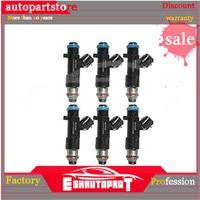 6pcs New 16600CD700 Fuel Injector For Nissan Infiniti FX35 M35 G35 V6 3.5L 0280158042