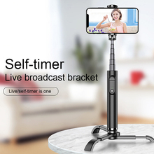 MINI Selfie Stick statyw wysuwany telefon statyw Selfie Stick z Bluetooth Remote Smartphone Selfie-Stick dla iphone tanie tanio JETTING STAINLESS STEEL Smartfony 100g Dropshipping wholesale IOS Android Bluetooth connection Mobile phone below 4-6 inches