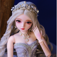 Doll bjd ball jointed bebe reborn gifts for girl Handpainted makeup fullset Lolita/princess doll with clothes doll