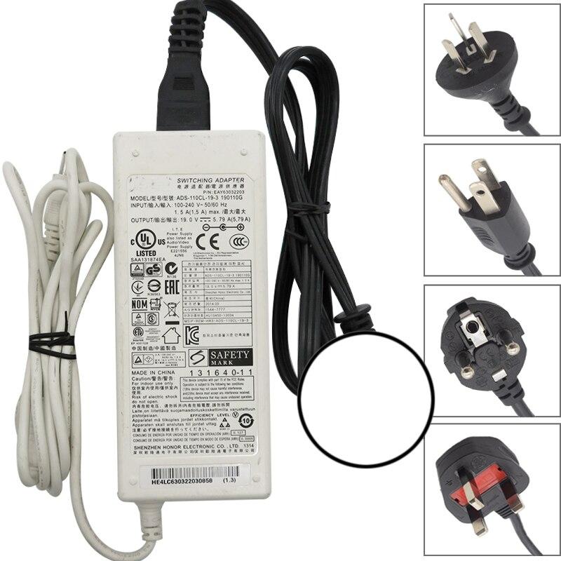 Used LG AC Adapter ADS-110CL-19-3 190110G 19V 5.79A 110W For LG PA1000 PF1500 PF1000U 34MU88-P 34UM89C-P 34UC98 34UC89G-B