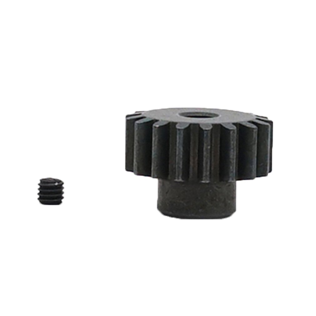 <font><b>Metal</b></font> Motor Pinion Gear 17T 0.8M Metallic Gear 3.175mm Hole For WLtoys <font><b>12428</b></font> 12423 1/12 RC Car Crawler Short Course Truck Parts image