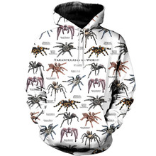 Tessffel spider New Fashion Harajuku RapGod  3D Printed Hoodie/Sweatshirt/Jacket/shirts Mens Womens hiphop funny animal style-3