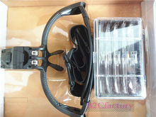 Fue Hair Transplant Instruments Hand Free Magnifying Head Loupe With 5 Lenses And LED Lights Hair Transplant Equipment