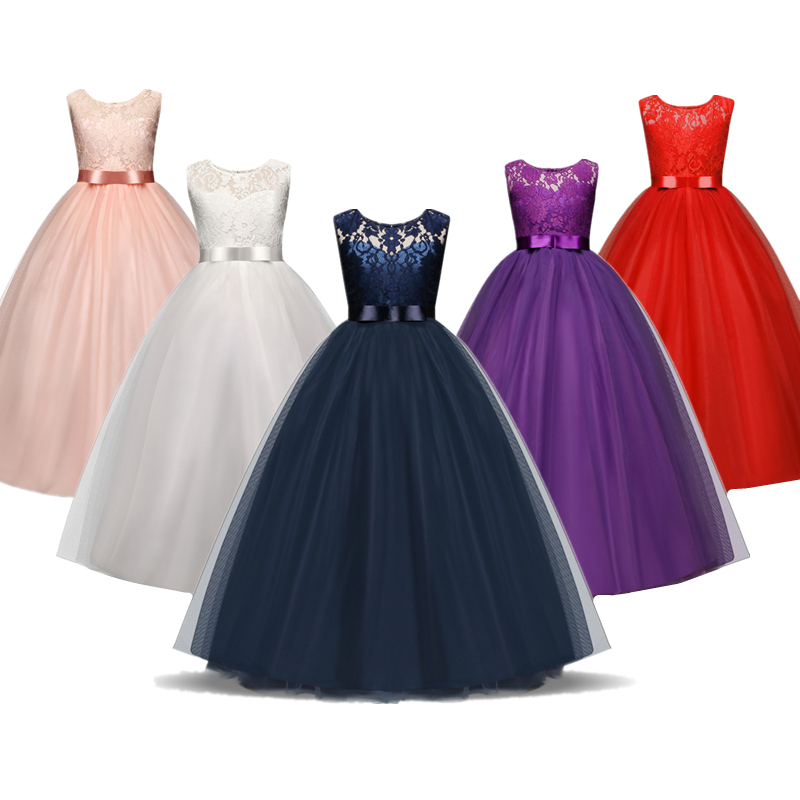 New Year Christmas Dress For Girls Wedding Costume Kids Dresses For Girls Princess Dress Evening Party Dress 3 6 7 8 10 Years 1