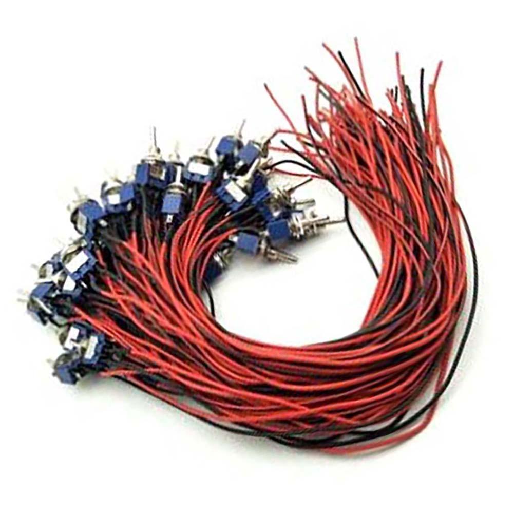 15/20/30/50 см MTS-102 MTS-1 охранной сигнализации предварительно смонтированный на включение/выключение Мини тумблер