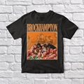 Brockhampton 90 винтажная черная футболка унисекс
