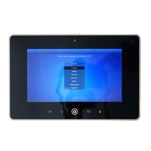 Image 3 - DH logo Multi Language VTH5221D 7inch Indoor Monitor,Build in camera, SIP firmware, IP doorbell, Video Intercom,wired doorbell