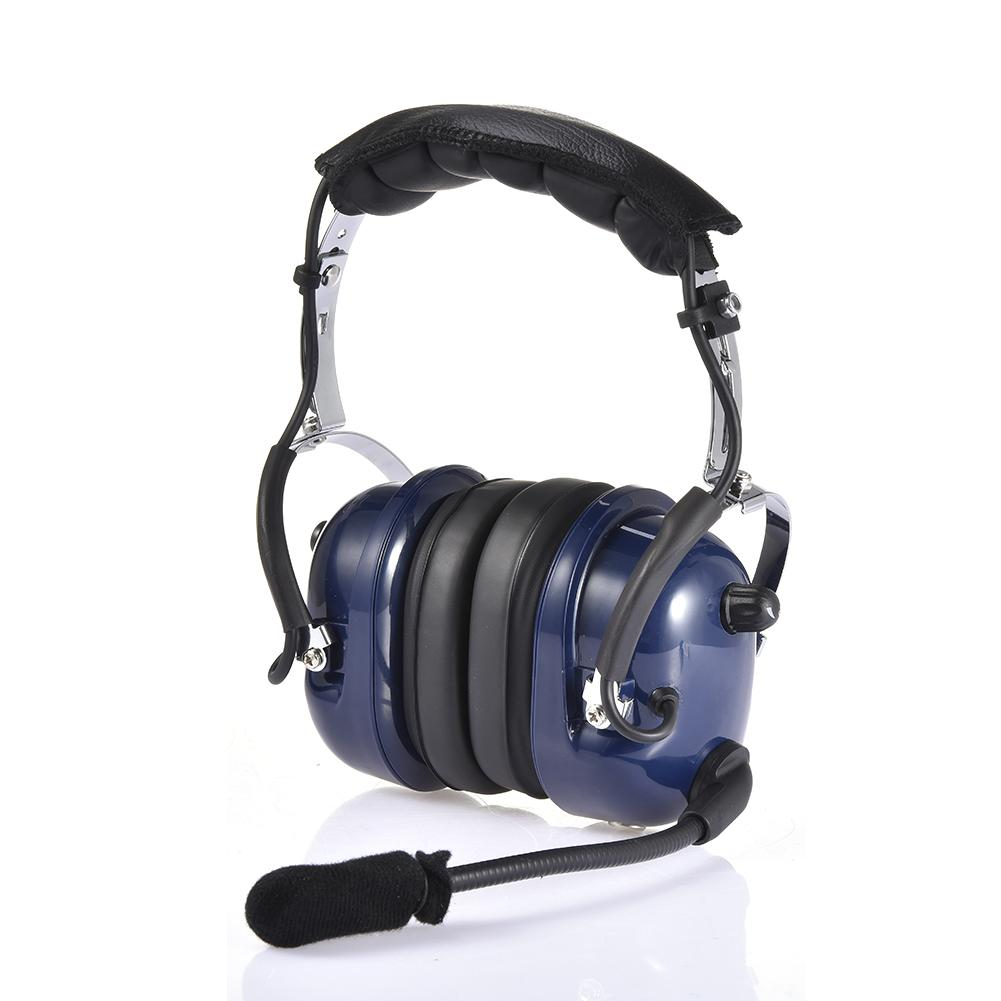 Rondaful aviação piloto fone de ouvido redução
