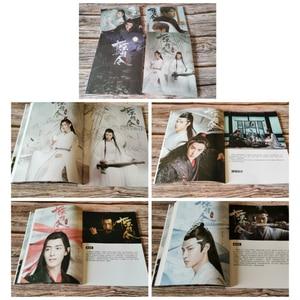 Image 4 - Xiao zhan wang yibo fãs coleção presentes do transporte da gota xiao zhan wuxian lan wangji álbum de fotos chen qing ling
