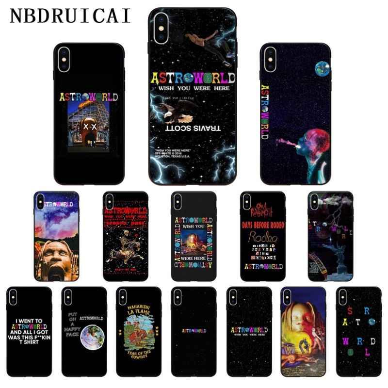 Nbdruicai Travis Scott Astroworld High Quality Phone Case For Iphone 11 Pro Xs Max 8 7 6 6s Plus X 5 5s Se Xr Case Aliexpress