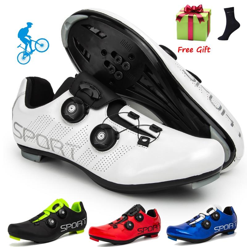 Велосипедные туфли Для мужчин Спорт на открытом воздухе профессиональные гоночный дорожный педаль Spd Велосипедный спорт тапки унисекс Mtb г...