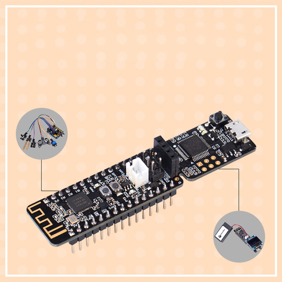 Nanobit Development Board Makecode Graphical Programming Development Board DIY Smart STEM Toy Accessories