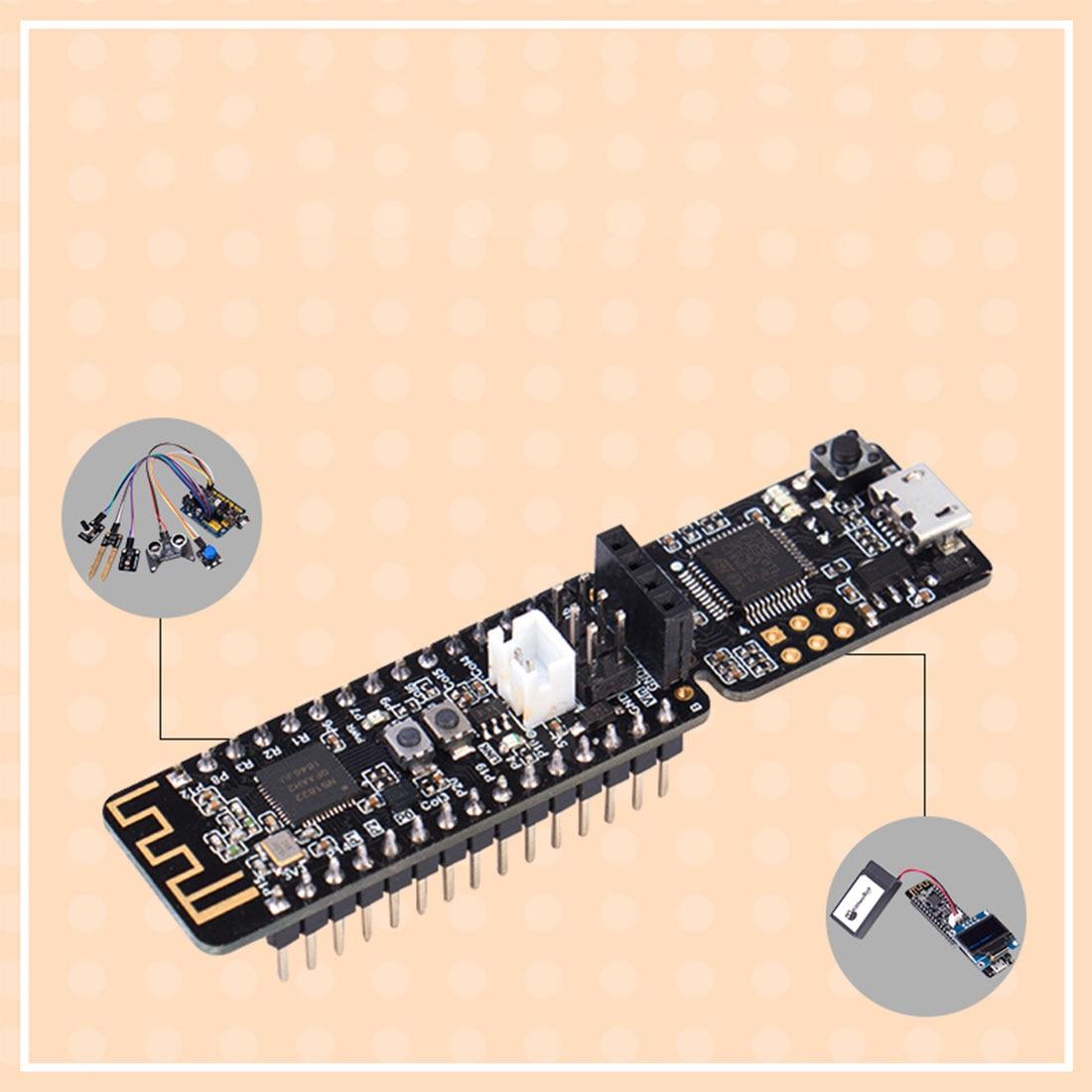 Nanobit Development Board Makecode Graphical Programming Development Board DIY Smart STEM Toy Accessories