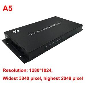Image 3 - Huidu HD A4 A5 A6 WIFI kolorowy wyświetlacz LED dwufunkcyjny synchroniczny i asynchroniczny system sterowania