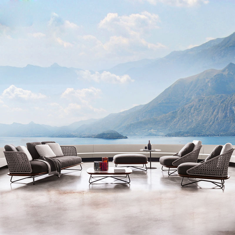 US $145.0 |Patio Outdoor Furniture Sun Room Leisure Rattan Sofa Chair on  AliExpress