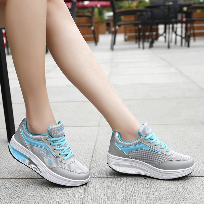 Woman Shoes Sneakers Women's Shoes With Platform Casual Women Sneakers High Heel Fashionable Zapatillas Mujer
