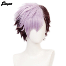 Short Wig Costume Synthetic-Hair Cosplay Heat-Resistant Party Ebingoo Halloween for Man