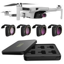 SUNNYLIFE DJI Mavic Mini MCUV CPL kamera Lens filtresi profesyonel ND8 ND16 filtre DJI Mavic Mini Drone aksesuarları