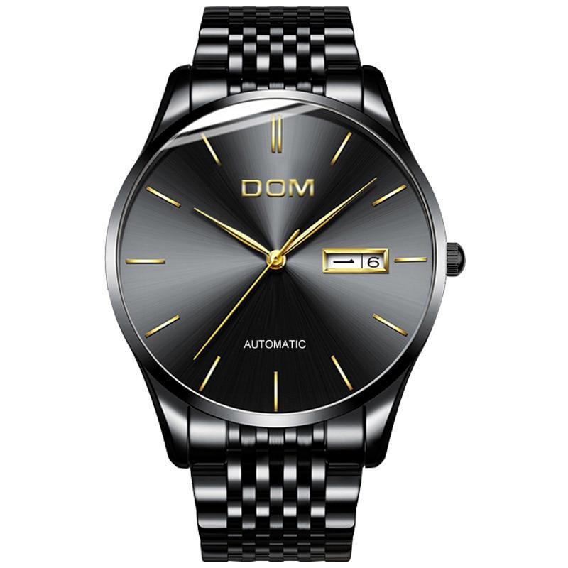 Man Mechanics Surface Motion Wrist Watch Concise Business Affairs Mechanics Surface Male Surface Watch Men фото