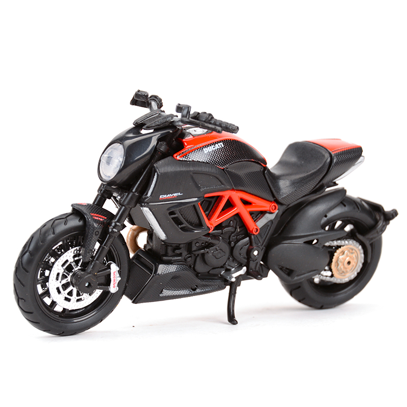 Maisto 1:18 Diavel Carbon Diecast Alloy Motorcycle Model Toy
