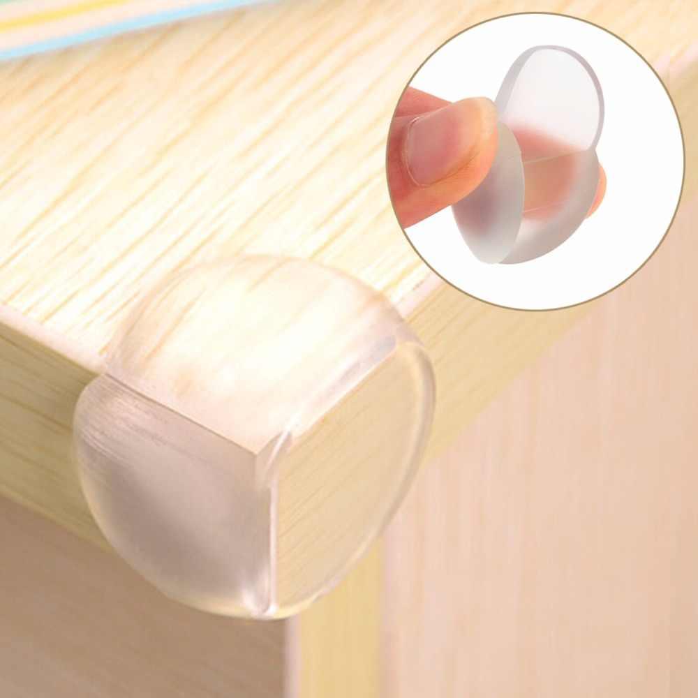 Protetor de silicone de segurança do bebê da criança mesa canto proteção capa crianças borda anticollision canto guardas protetor de móveis