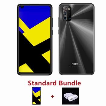 "4G LTE Note 9 Pro 4G RAM+64G ROM 13MP Front/Back Camera Face ID Android Global Smartphones 6.72"" Mobile Phones Celuares Unlocked - 4G RAM 64G ROM, 6.72black standard"