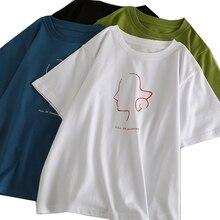 T Shirt Women 2019 Summer White Tshirt Fashion T-shirt Tops Casual T-shirts Female Top Newest Shirts