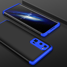 Slim Case for Honor 30 Pro Honor30 Case 360 Full Protection Anti-knock 3 in 1 Matte Hard PC Cover Huawei Honor 30 Pro Case Coque gkk 3 in 1 case for vivo v15 pro case 360 degree full protection hard pc phone back cover for vivo s1 pro case matte funda coque