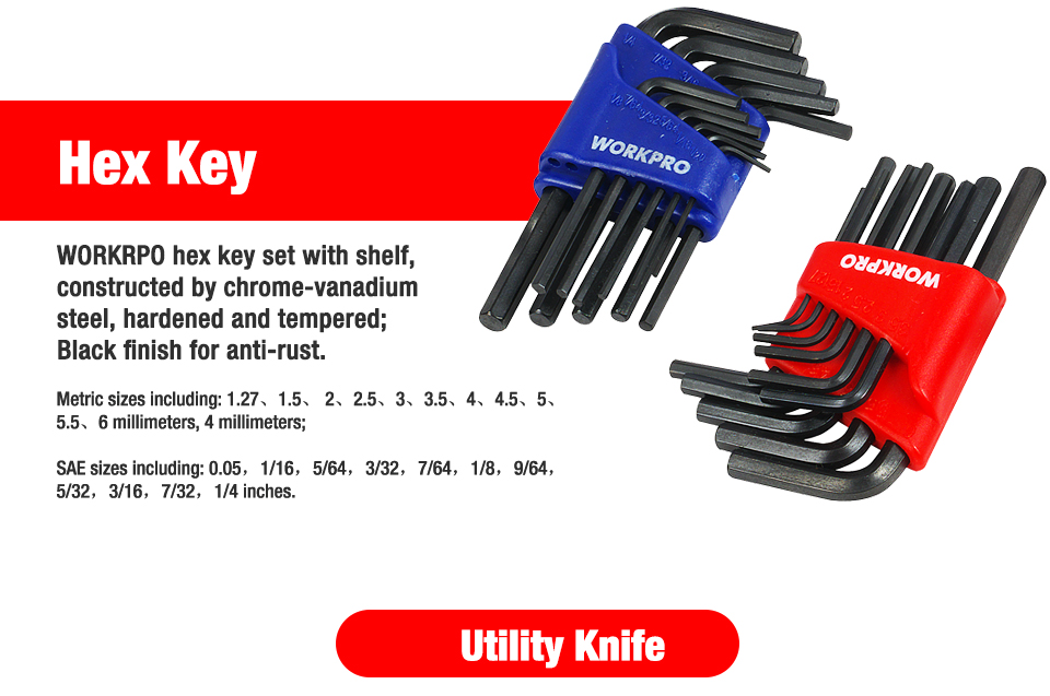 WORKPRO Hex Key
