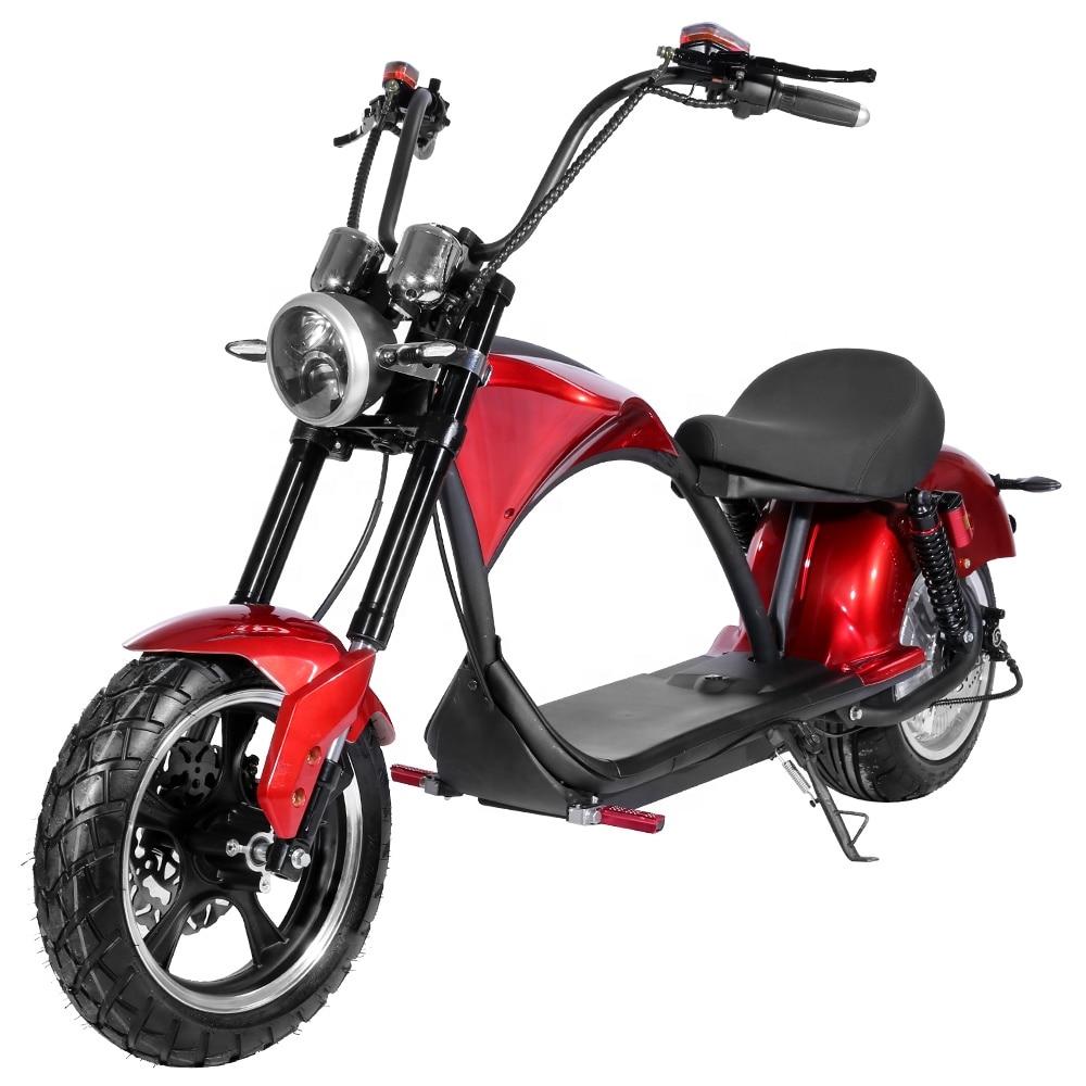 Двухколесный 2000 Вт с сертификатом EEC электрический мотоцикл электрический скейтборд в наличии в ЕС легальный высококачественный электрический Citycoco