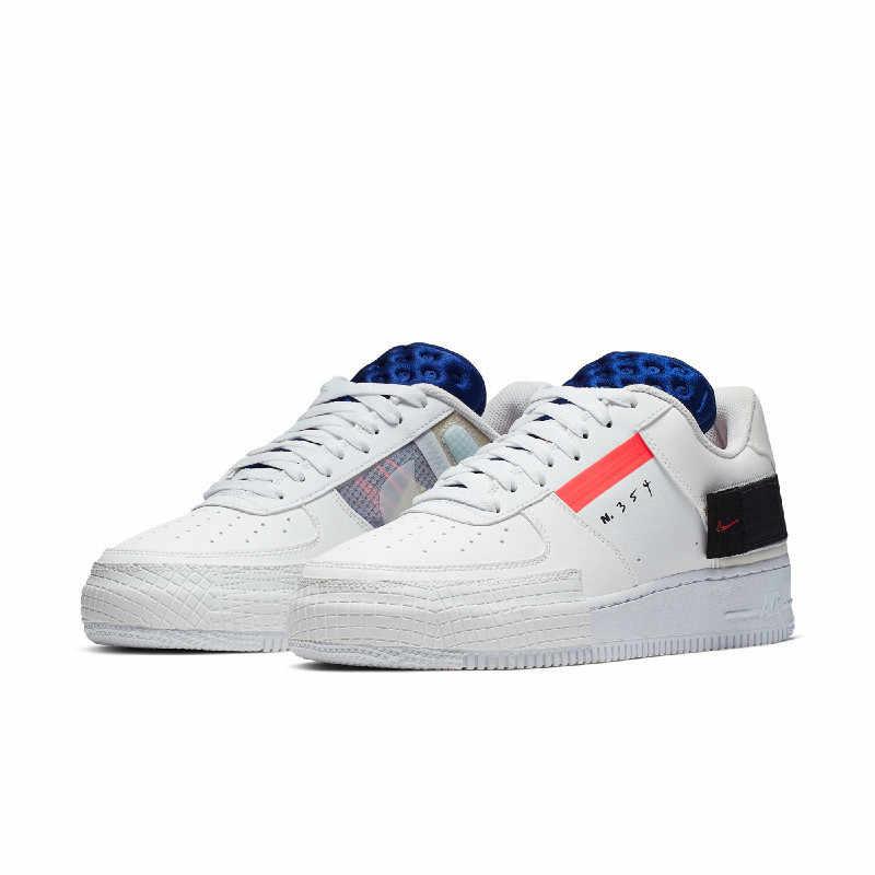 Nike AF1 Type hommes chaussures de skateboard nouveauté décontracté Original respirant baskets d'extérieur # CI0054