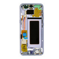 Replacement Mobile Phone Parts Assembly LCD Display Practical Screen Digitizer Kit Portable With Frame Capacitive For Samsung S8