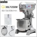 XEOLEO Elektrische Brot Teig Mixer Eier Mixer Kneten Maschine Teig Maker 30L Küche Stehen Lebensmittel Milchshake/Kuchen Mixer 1250W|Lebensmittel-Mixer|Haushaltsgeräte -
