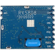 Retail 5.8G FPV Mini Wireless Audio Video Receiver Module RX5808 for FP