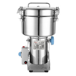 1500g Capacity Commercial Electric Dry Herb Grinding Machine Crusher Pulverizer Stainless Steel Grinder Crush Machine 1500 type