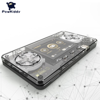POWKIDDY-Mini consola portátil transparente para niños, consola de juegos Retro A66 de 2,0 pulgadas, LCD a Color, 15000 juegos, TRIMUI, regalos para niños