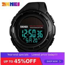 SKMEI 1405 Solar Power Mann Led Digital Uhr 50m Wasserdichte PU Band Datum Woche Display Uhr Luminous männer digitale Armbanduhr